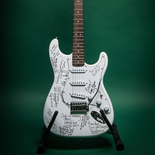 Guitar Guest Book Wedding / Party Guest Book Staffordshire