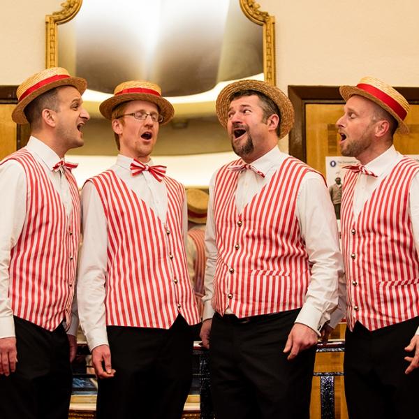 Harmony Barbershop Quartet  Hertfordshire
