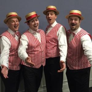 Harmony Barbershop Quartet Acapella group Hertfordshire