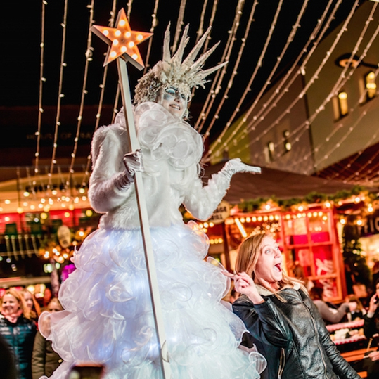 Ice Queens Christmas Entertainer Kent