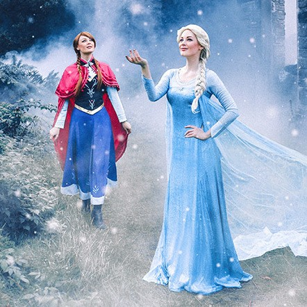 Frozen Singers Vocal Duo Warwickshire