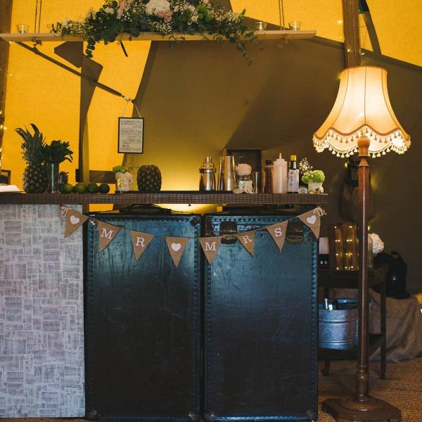 The Vintage Trunk Bar Bar Hire Derbyshire