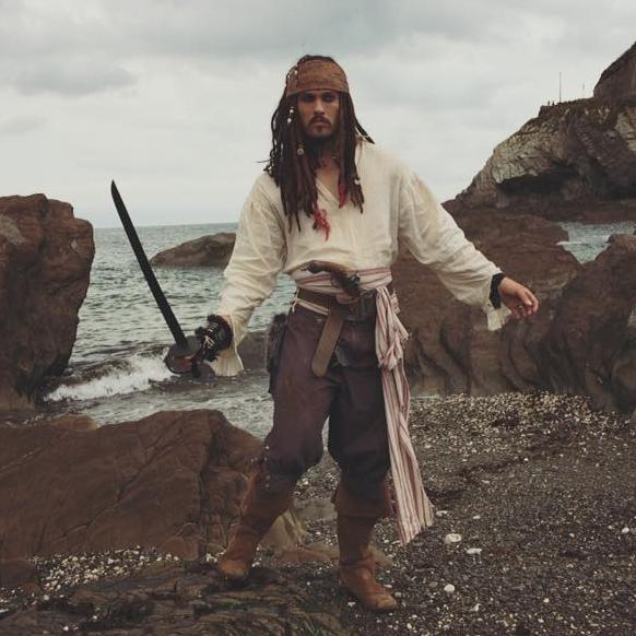 Pirates of the Caribbean Lookalike Lookalike Gloucestershire