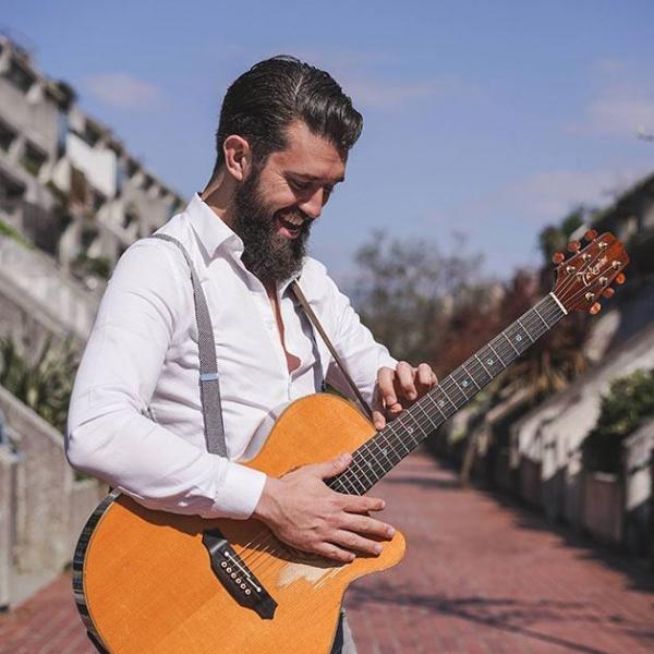 James Mac Singer Guitarist London