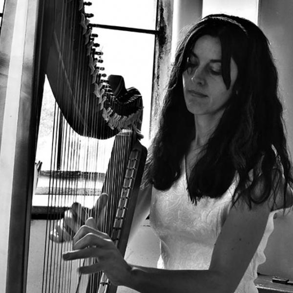J H Harp (Harpist) Electric and Acoustic Harpist Somerset