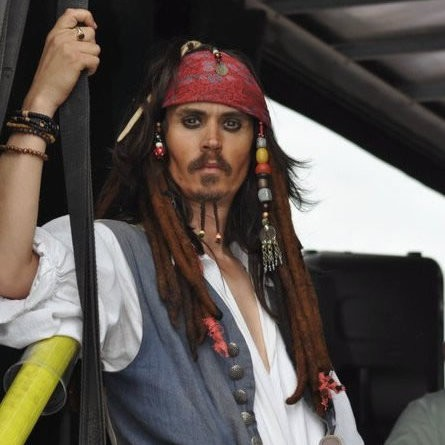 Johnny Depp Captain Jack Sparrow Lookalike Lookalike London
