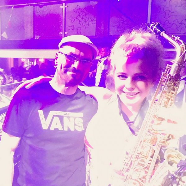 DJ Karlos Alexander and Sax Wedding DJ Staffordshire