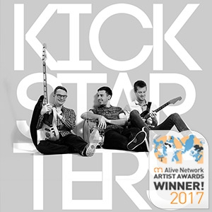 Kickstarters Rock and Pop Trio London