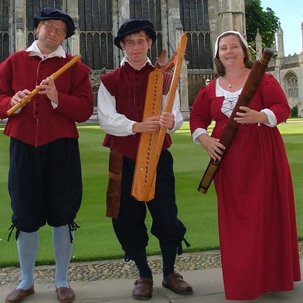 The Kings Waits Medieval Musician Norfolk
