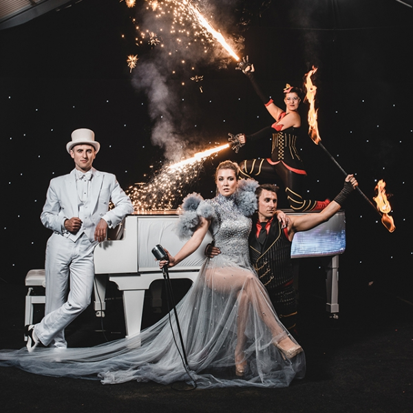 LED Piano Circus Show Circus Show With Live Musicians Somerset