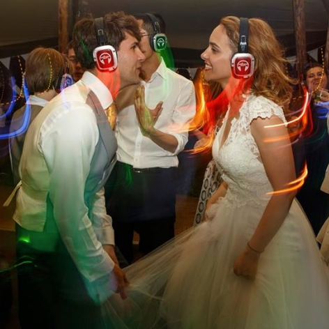 Light Up Silent Disco Party DJ Essex