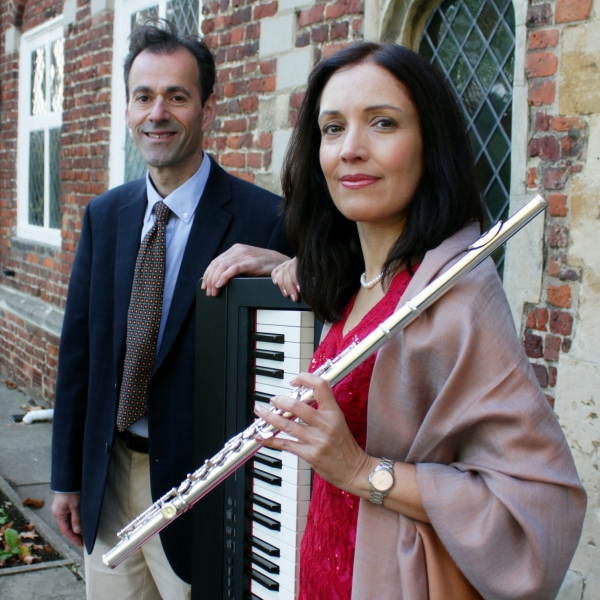 Lucia and Jon Flute and Piano Duo London