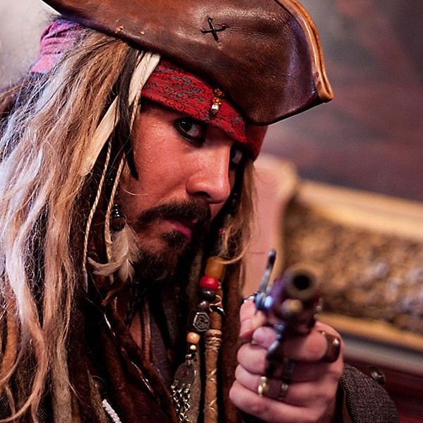 Jack The Caribbean Pirate Lookalike Glasgow