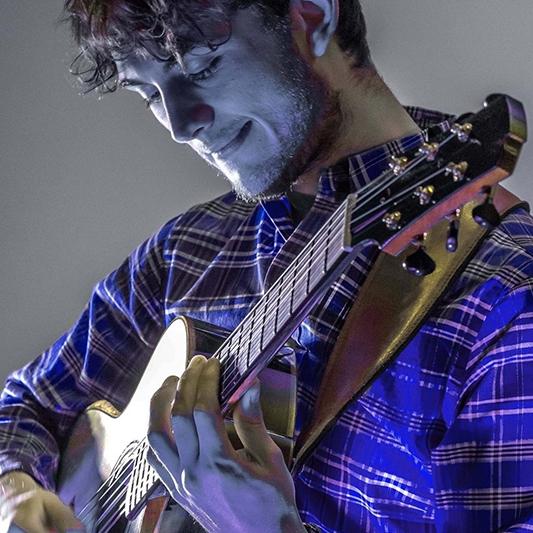 Luciano Lannali Instrumental Acoustic Guitarist Gloucestershire