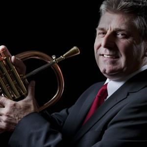 Trumpet Player Malcolm Lewis Solo Jazz Trumpeter Vale of Glamorgan