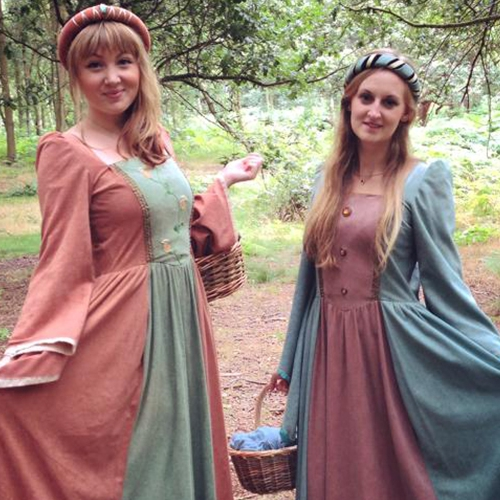 Medieval Maids Medieval Characters Leicestershire