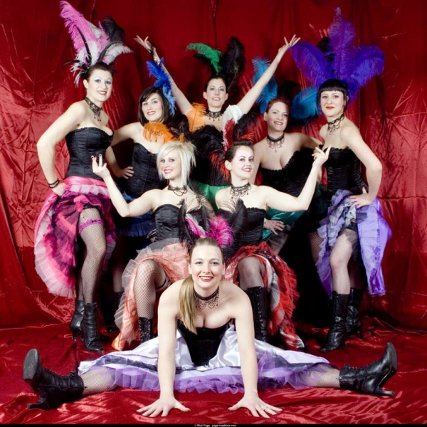 Parisian Cabaret Show Circus Performer East Sussex