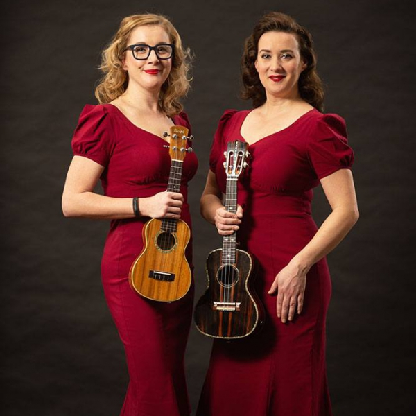 Nancy and Pearl Vintage Ukulele and Vocal Duo Merseyside