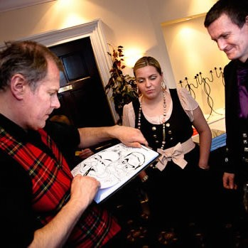 Neil Thomson Caricaturist Glasgow