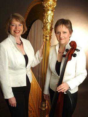 Nocturne Harp and Cello Duo Worcestershire
