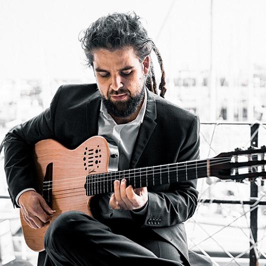 Pablo Es Guitar Classical Guitarist Kent