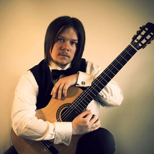 Pablo J Guitarist Classical Guitarist Northumberland