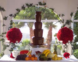 Single Luxury Chocolate Fountain Chocolate Fountain London