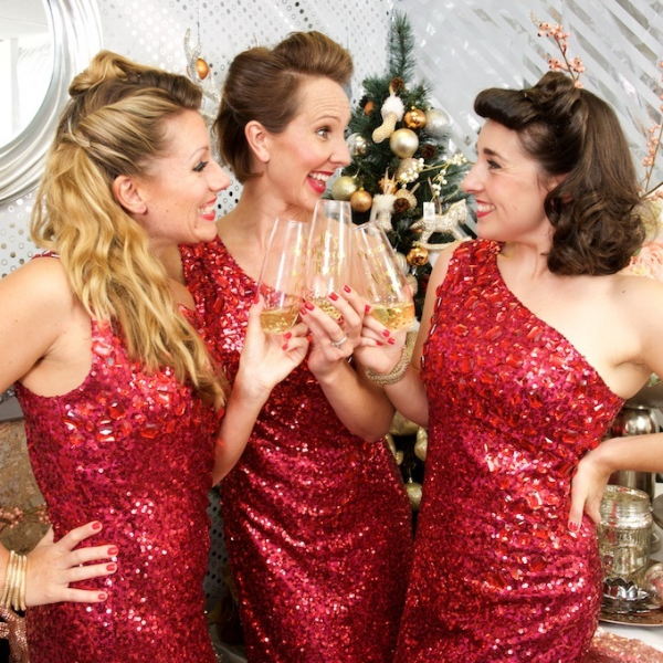 Santa Babes Vocal Harmony Trio Buckinghamshire