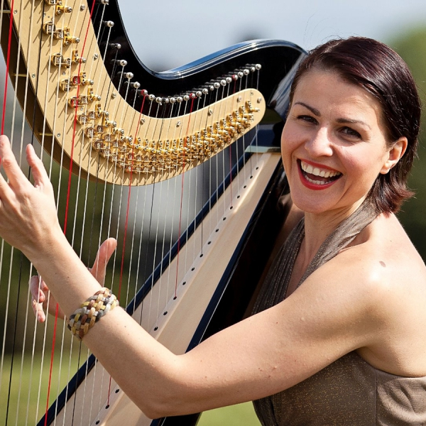 Beautiful Harp Harpist London