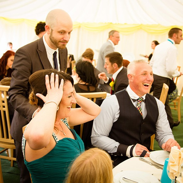 Exquisite Wedding Magician Chris Magician Dorset