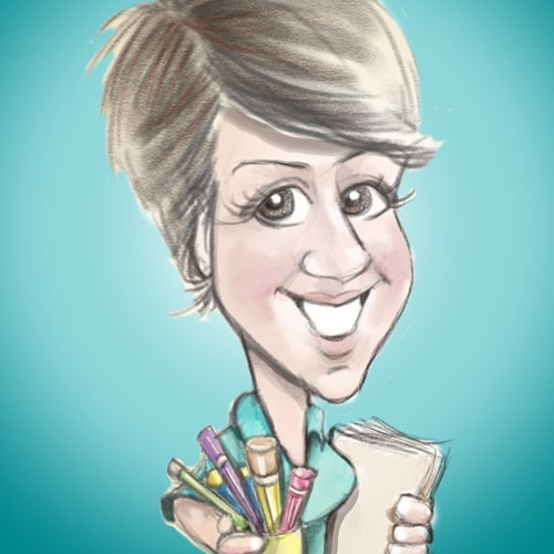 The Pencil Lady Caricaturist Aberdeen area