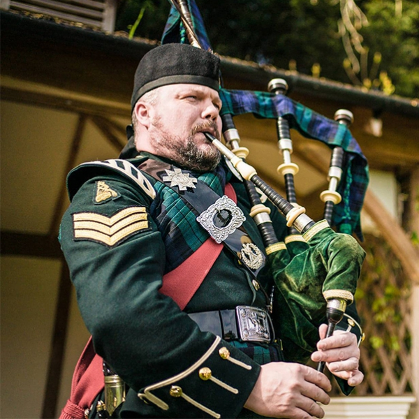 Pipe Major Andrew Brian Piper Cheshire