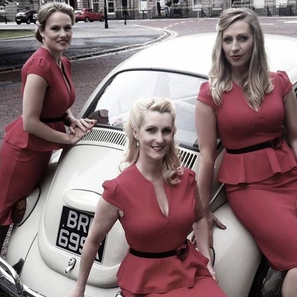 The Barronelli Sisters Acapella group Merseyside