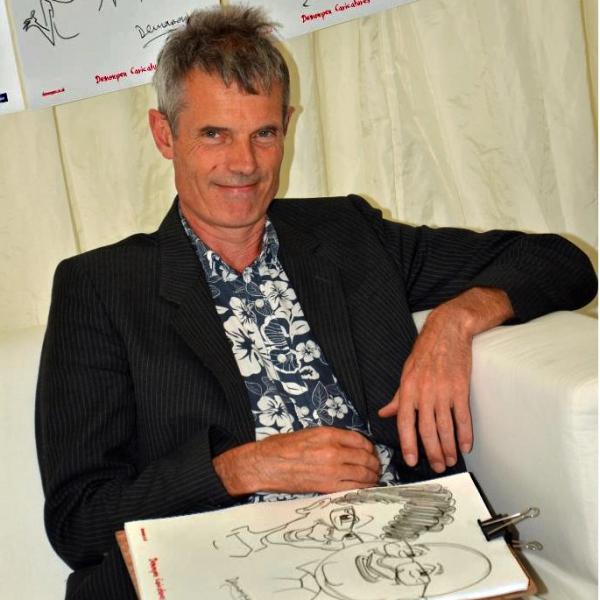 Caractacus Caricaturist Gloucestershire
