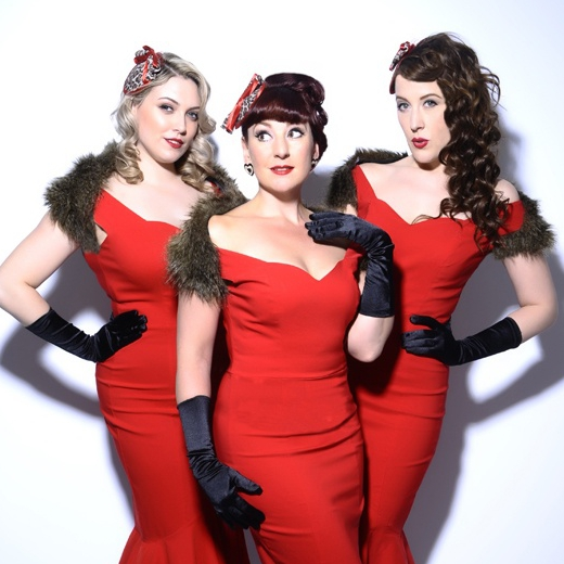 S.O.S (Sirens of Swing) Vintage Vocal Trio Essex