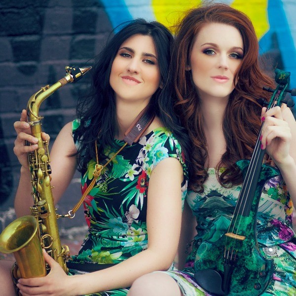 Volts Duo Violin & Saxophone Duo Greater Manchester