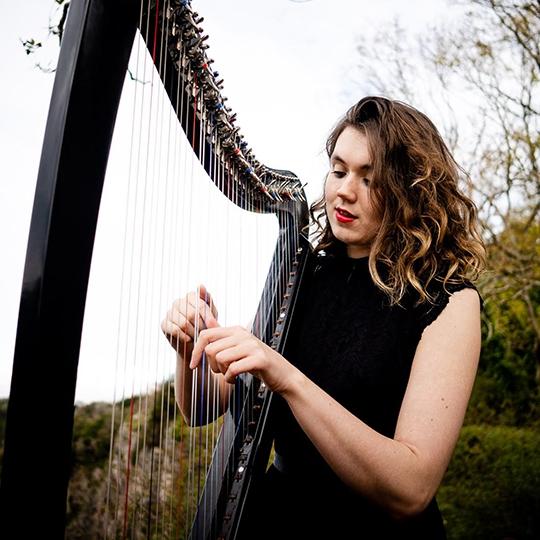 Scarlett Harp Harpist Bristol