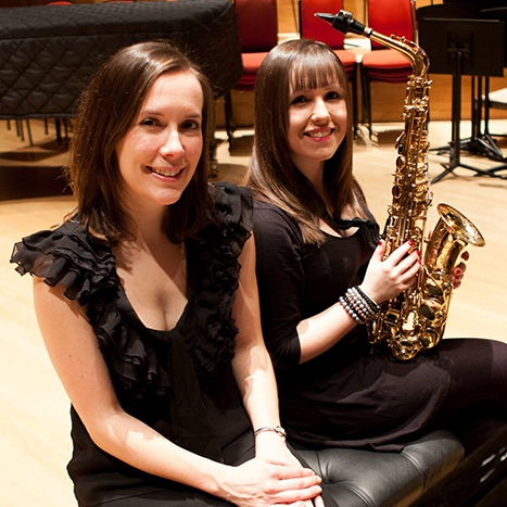 Seren Saxophone and Piano Duo West Midlands