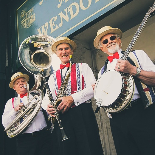 Silver St Dixie Trio Dixieland Jazz Band Hertfordshire