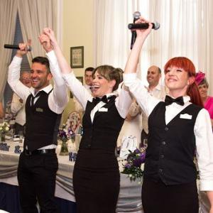 The Singing Waitresses and Waiters Singing Waiter Hertfordshire