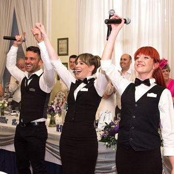 The Singing Waitresses and Waiters Singing Waiter Hertfordshire