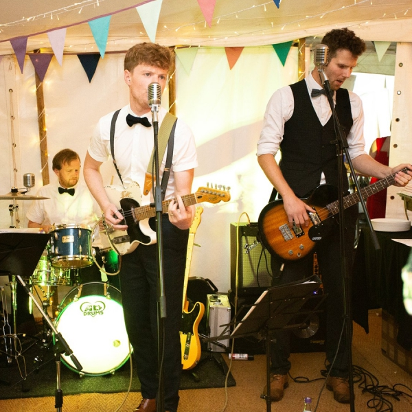 The Rumbles Rock n Roll Swing Band Herefordshire