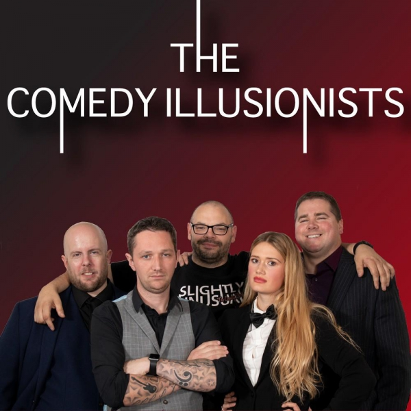The Comedy Illusionists Comedy Magic Stage Show Staffordshire