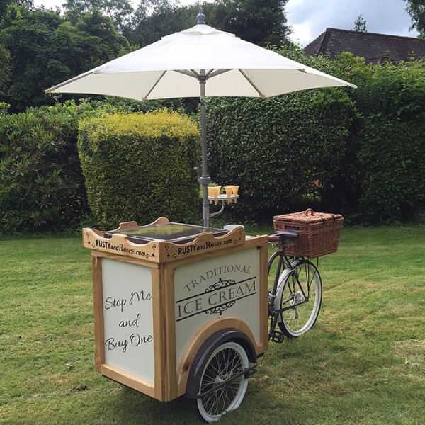 The Ice Cream Parlor Ice Cream Cart Berkshire