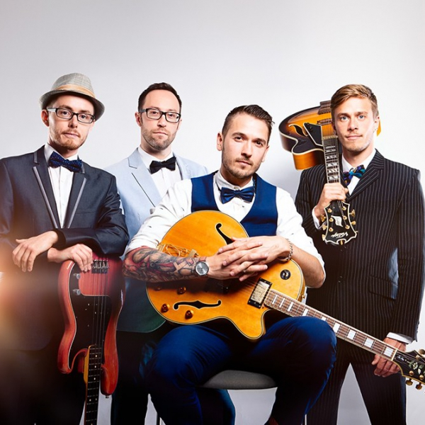 The Long Straws Rock & Pop Retro Rockabilly Covers Band East Sussex