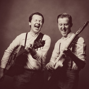 The Retrobates Retro Rock n Roll / Pop Party Duo East Sussex