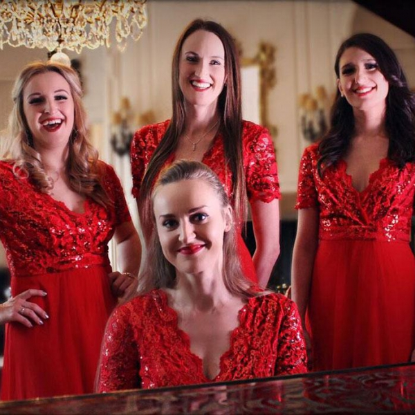 The Silver Belles Christmas Vocal Harmony Quartet Hertfordshire
