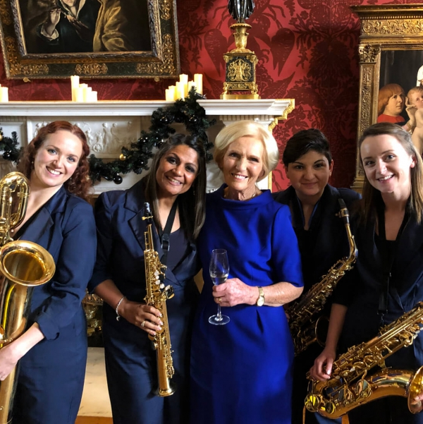 The Soiree Sax Quartet Saxophonist London
