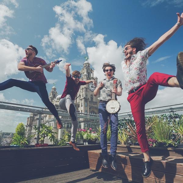 The UkeBoys Ukulele Band Merseyside