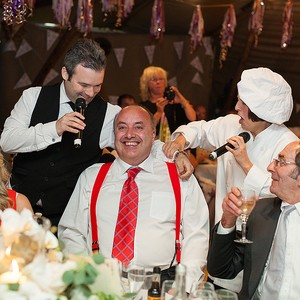 Totally Spontaneous Singing Waiter Hertfordshire